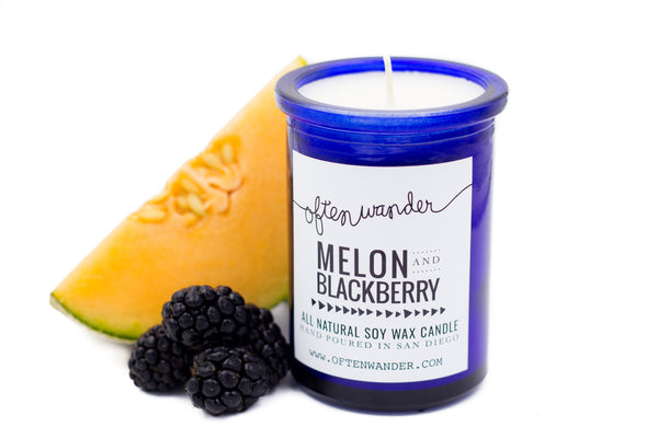 Apothec Candle - Melon and Blackberry