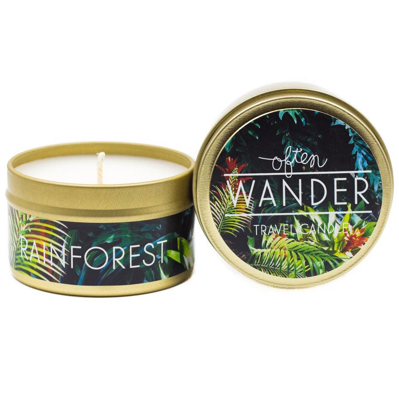 Wander Travel Candle - Rainforest