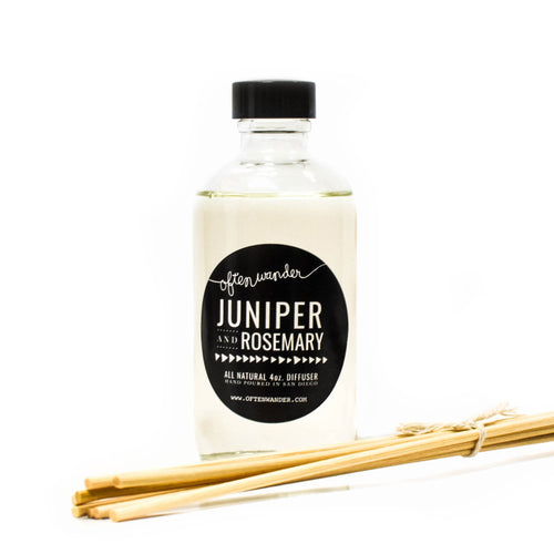 Juniper and Rosemary — Signature Reed Diffuser