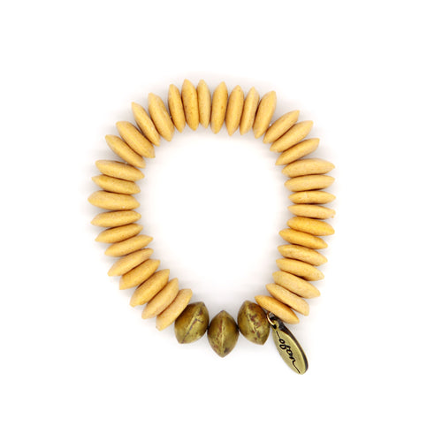 Honey — Oasis Beaded Bracelet