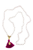 Mala Necklace - Rose Quartz