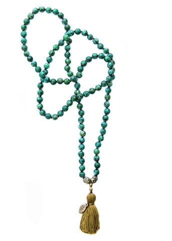 Necklace - Love Nugget (Malachite)