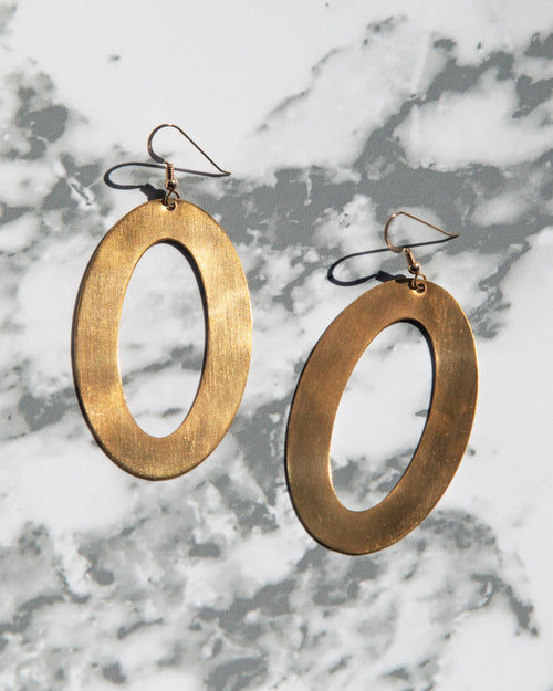 Earrings — Mod Hoops