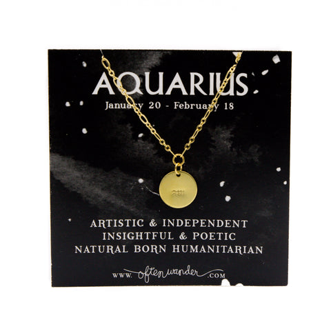 Astrological Necklace - Capricorn [DEC 22 - JAN 19]