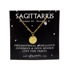 Astrological Necklace - Sagittarius [NOV 22 - DEC 21]