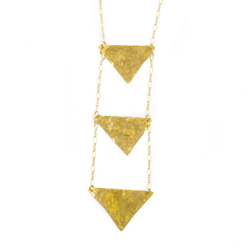 Necklace - Wandering Triangle