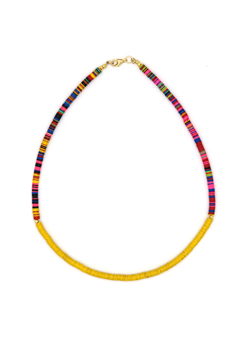 Limited! Neon Vinyl Choker — Sunshine & Rainbows — Necklace