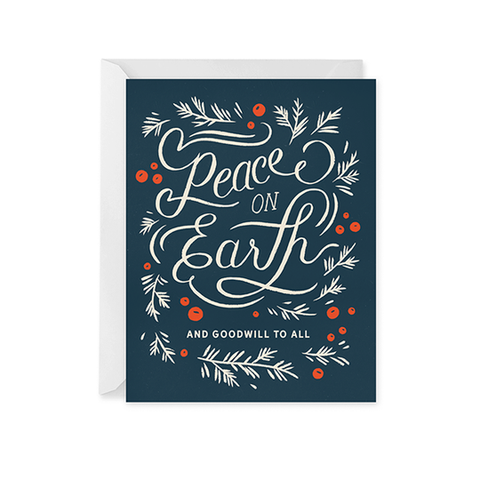 Grateful For Everything — Note Card — Red Cap Cards