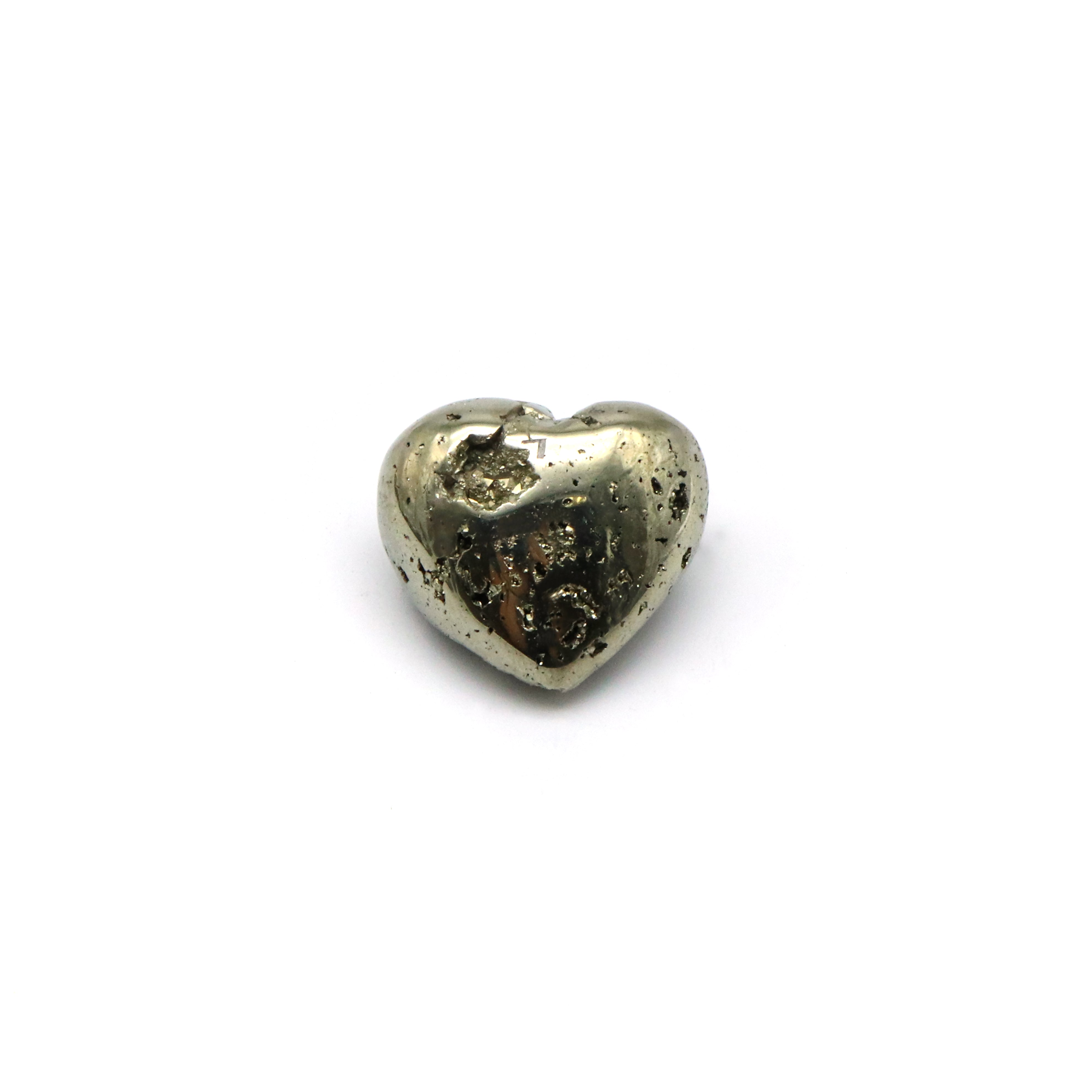 Pyrite — Hearts — Crystal