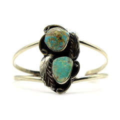 River Turquoise — Mexican Gemstone Cuff