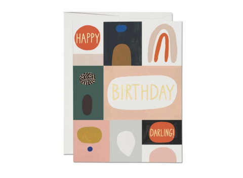 Red Cap Cards — Birthday Suit