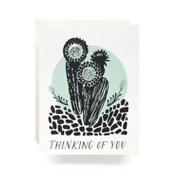 Antiquaria Greeting Card — Thinking of You