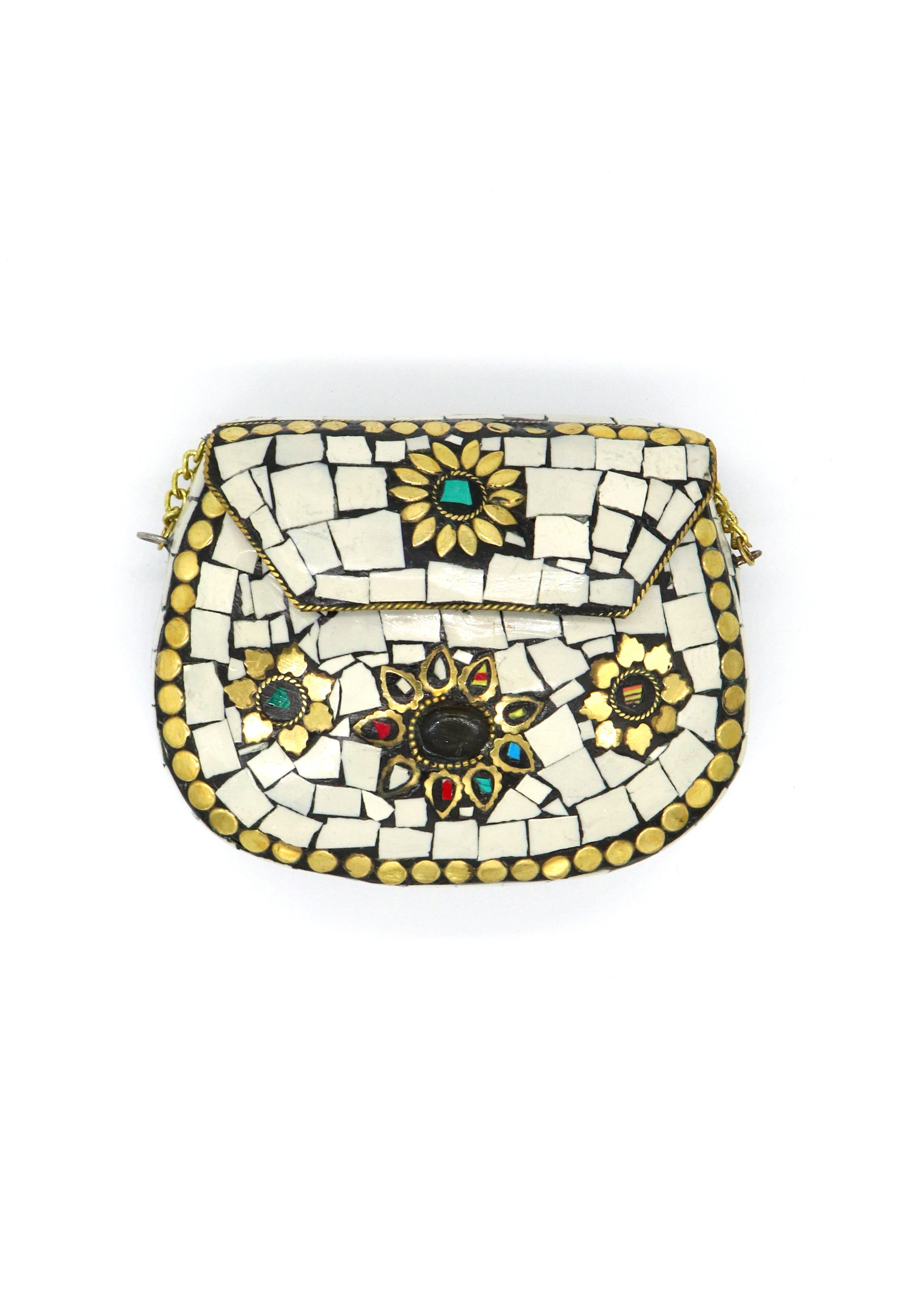 Tibetan Jeweled Purse — Small