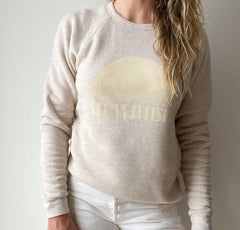 Oatmeal + Cream — Crew Neck Sweatshirt — Establish