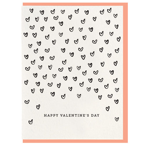Happy Valentine's Day — Note Card — Dahlia Press