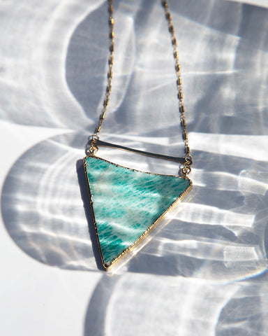Necklace — High Line — African Turquoise