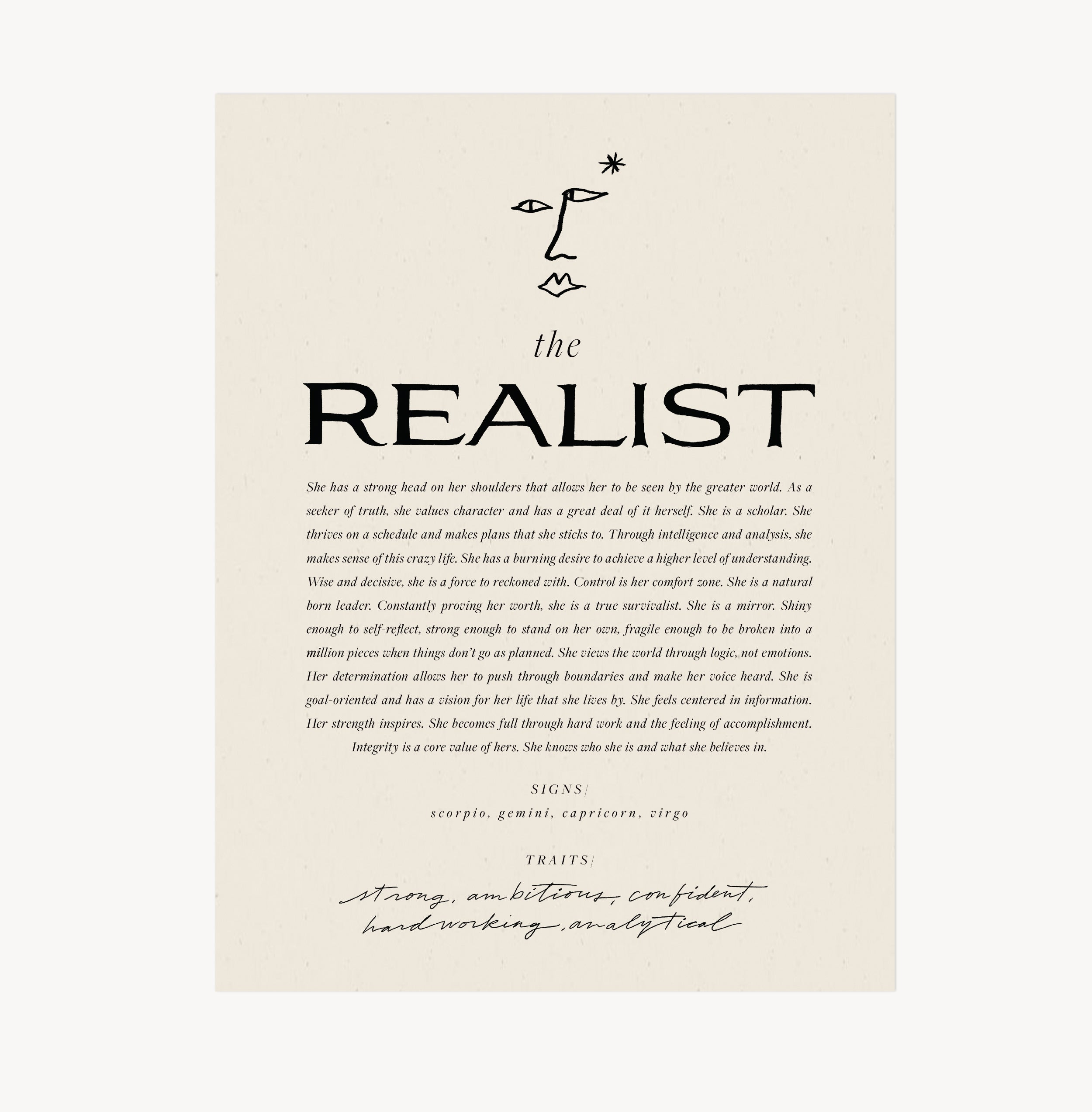 Wilde House Paper — The Realist Print
