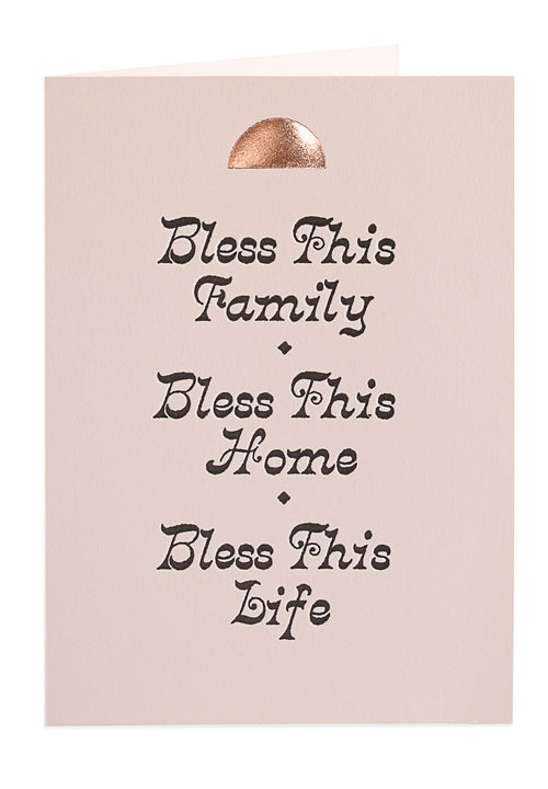 Bless This Home — Note Card — Archivist