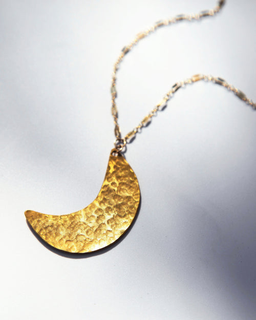 Necklace — Crescent Moon