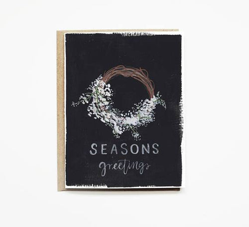 Seasons Greetings — Note Card — Pen + Pillar