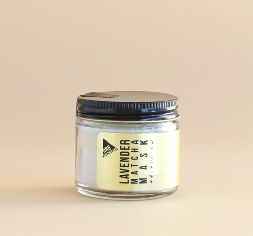 URB Apothecary — Lavender Matcha Mask