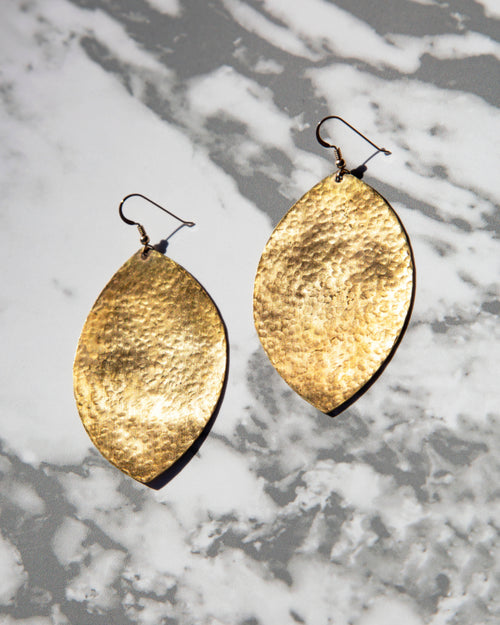 Earrings — Leaf