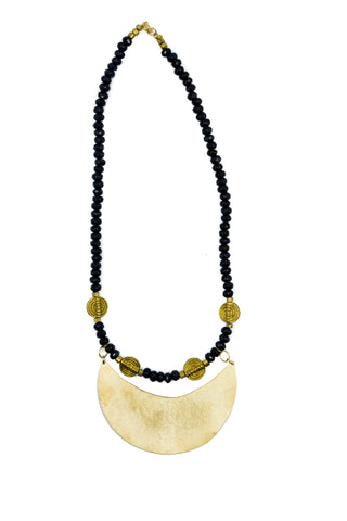NEW Necklace - Folded Moon Necklace