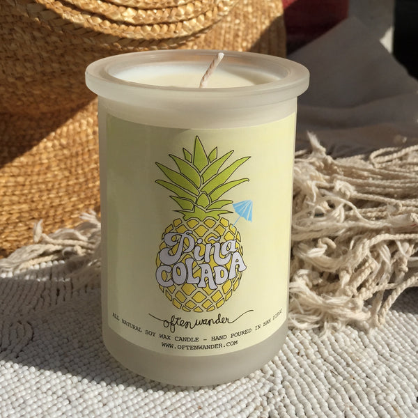 Piña Colada Candle // Limited Edition