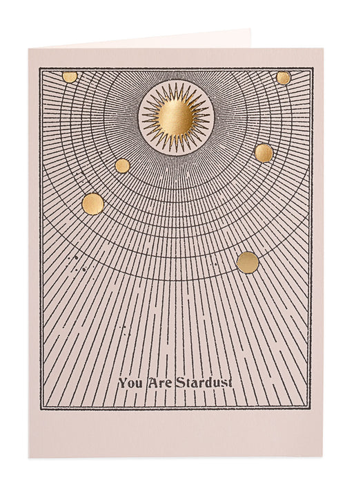 You are Stardust — Note Card — Archivist