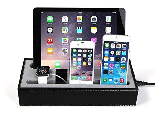 [4 in 1] Apple Watch Stand & Iphone iPad Charging Station Multiple