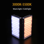 3800mAh Dimmable LED Video Light 96PCS CRI96 OLED with Battery for DSLR Photographic Lighting Studio Tiktok Selfie Fill Light