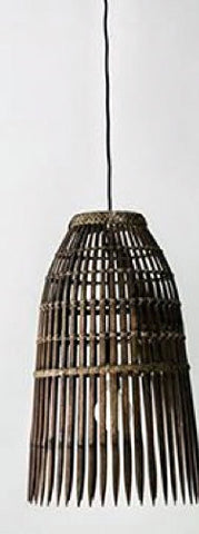 Balinese Fish Trap Hanging Lamp Pendant