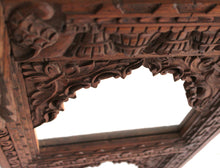 Load image into Gallery viewer, Indian carved mirror