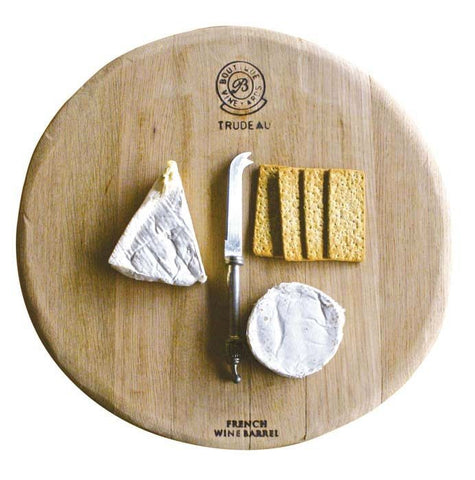 Trudeau Large Round Cheese Board