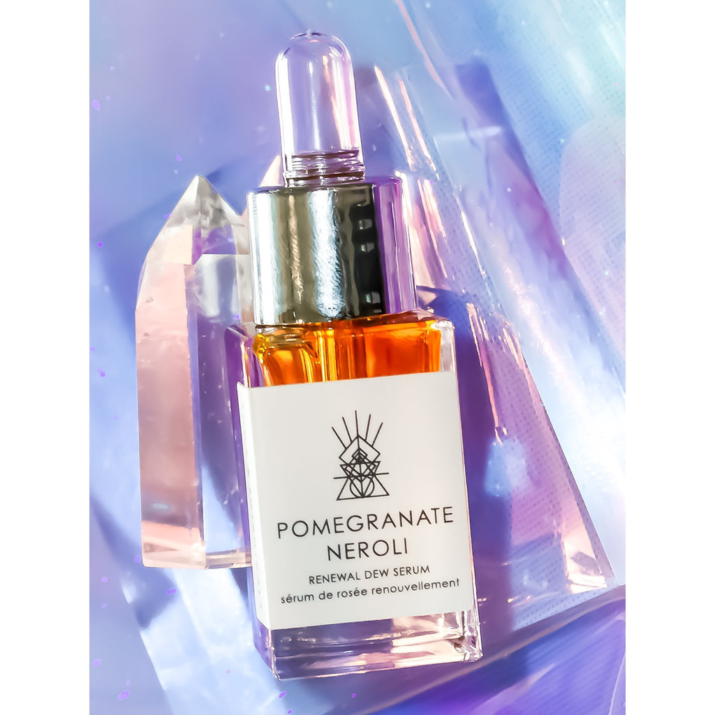 POMEGRANATE + NEROLI Renewal Dew Face Serum - BUCA Botanicals