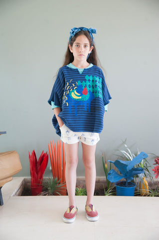 Bobo Choses summer 2016 Poncho and Painters Shorts