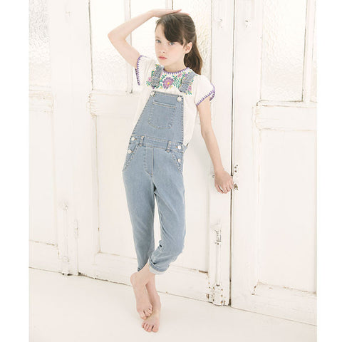 Louis Louise Denim Overalls for kids.