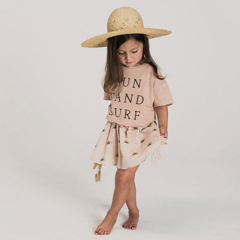 Rylee and Cru Sun Sand Surf Tee and Sunset Mini Skirt