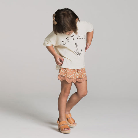 Rylee and Cru Captain top and Scallop Short