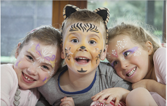 Purepopet makeup and face paint for boys and girls.