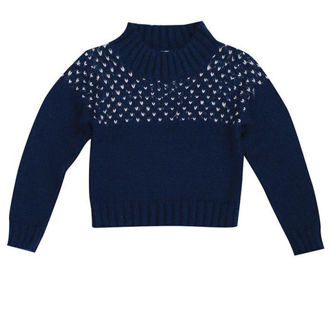 Girls' knitwear by Bella & Lace.