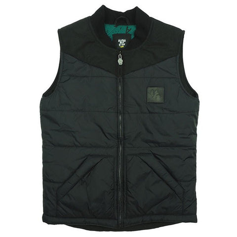 Opt for clothes that are easy to remove, such as this zip-up lined vest by Alphabet Soup.