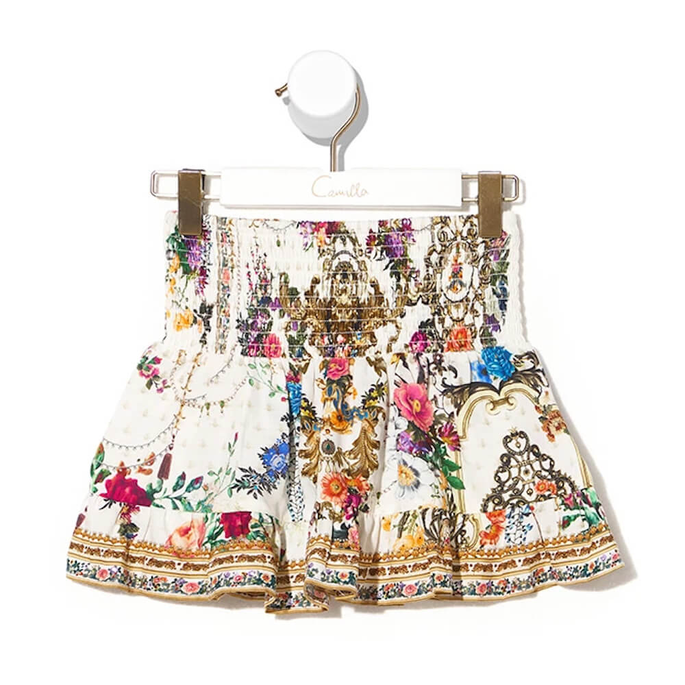 Camilla By The Meadow Shirring Waist Skirt | Tiny People