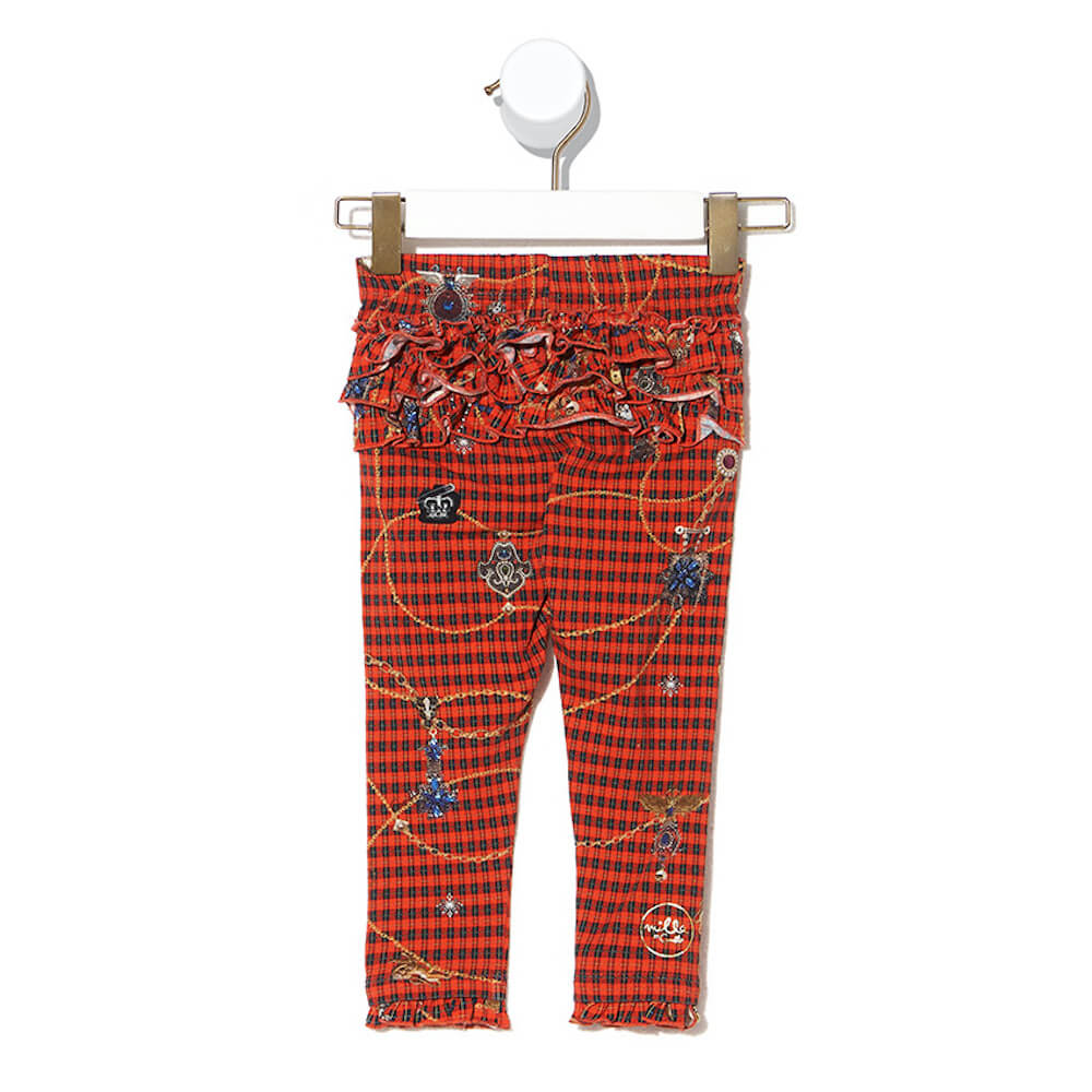 Poetic Anarchy Baby Leggings with Frills