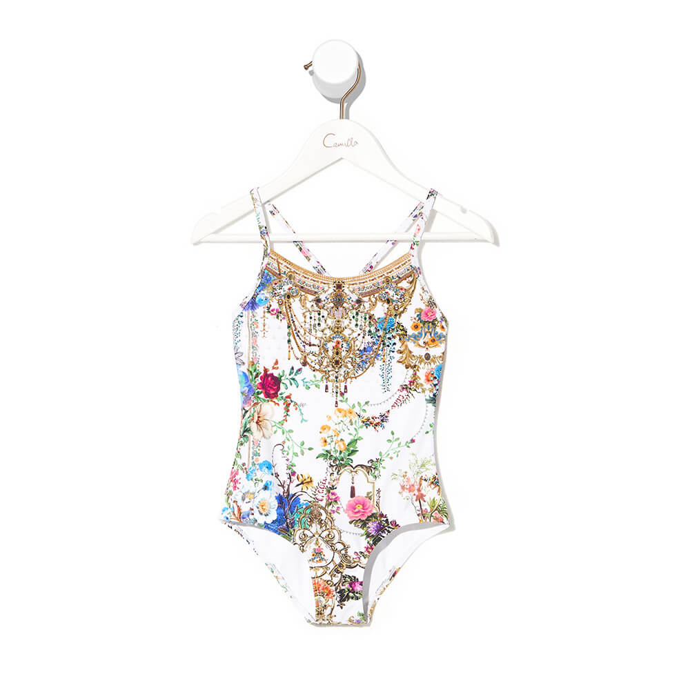 Camilla By The Meadow Round Neck One Piece | Tiny People