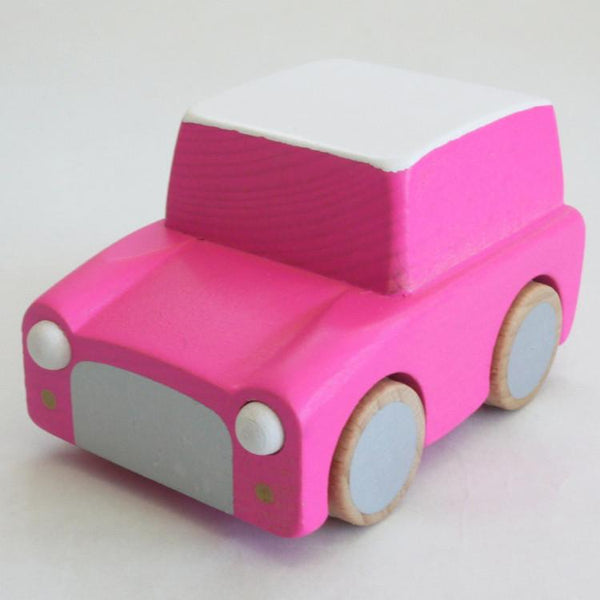 Kukkia Kiko+ Kuruma Car Pink - Tiny People shop