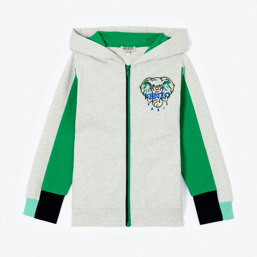 Kenzo Disco Jungle Zip Hoodie | Tiny People