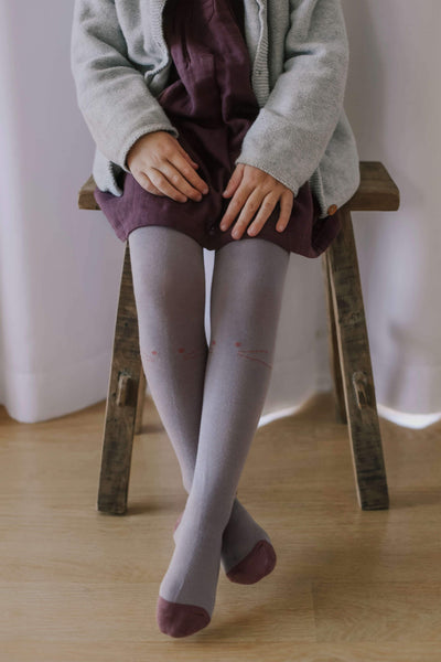 Jamie Kay Kitty Tights Fawn | Tiny People