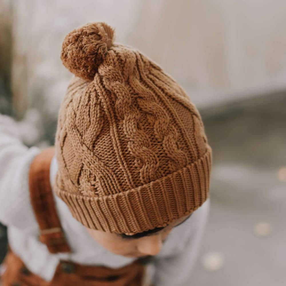 Jamie Kay Bailey Hat Camel | Tiny People