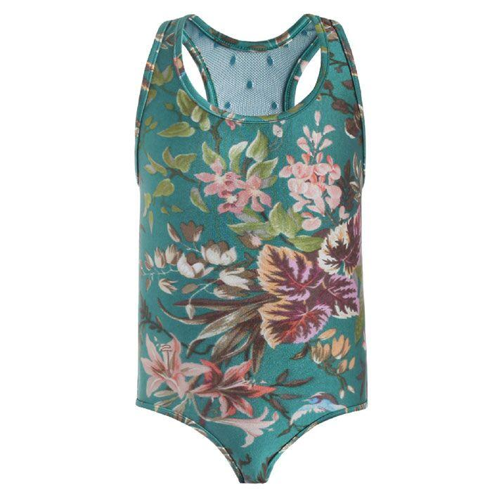 Zimmermann Tropicale Racerback Swimsuit - Tiny People Cool Kids Clothes Byron Bay